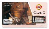 oil colours in box CLASSIC