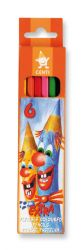 set of plastic coloured pencils 2161 6