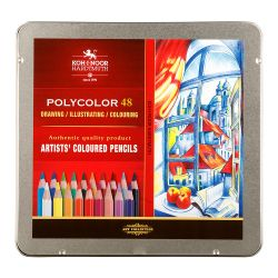 set of artist´s coloured pencils 3826 48