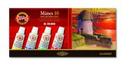 set of artists´ oil colours MANES 10x16ml
