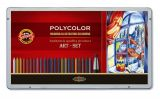drawing set with coloured leads POLYCOLOR 3896