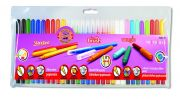 set of fibre pens 30