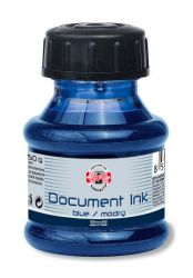fountain pen ink document 50g blue
