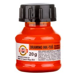 technical drawing ink 20g orange