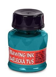 artists´ drawing ink 20g 2450 azure blue