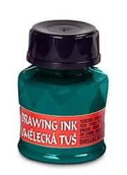 artists´ drawing ink 20g 2550 bluish green