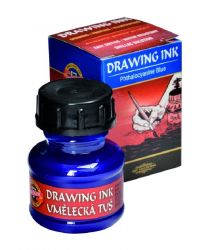 artists´ drawing ink 20g 2400 phthalocyanine blue