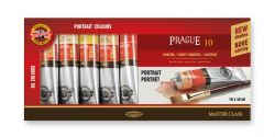 set of artists´ oil colours PRAGUE 10x40ml portrait
