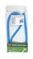 plastic french curve 80