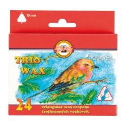 set of aquarell wax crayons TR10 8254 24