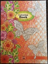 colouring book for adults FSC MIX CREDIT