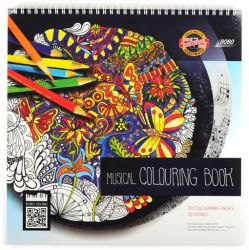 musical colouring book GB
